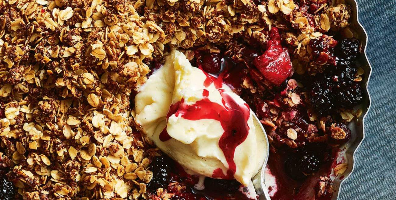 Apple Berry Crumble | Beanstalk Single Mums